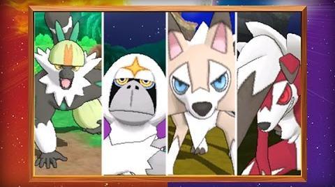 Versie-exclusieve Pokémon en nieuwe functies bekendgemaakt in Pokémon Sun en Pokémon Moon!