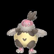 629Vullaby Pokémon HOME