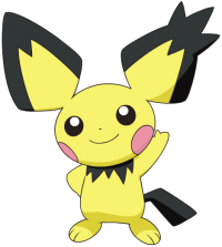 Spikey-eared Pichu