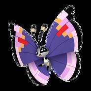 666Vivillon Elegant Pattern Pokémon HOME