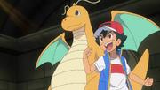 Dragonite and Ash