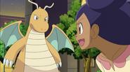 Iris and Dragonite