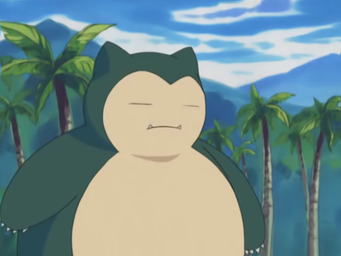 Marcel captured a Snorlax, who was terrorizing his theme park.