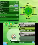 SM status screen