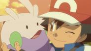 Ash and Goomy