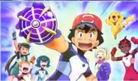 Ash caught Ultra Beast Masivoon