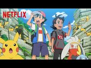 It's a Pack of Pikachu! - Pokémon Journeys- The Series - Netflix Futures