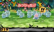 도적과 1000마리의 포켓몬 플레이 화면