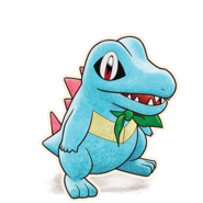 158Totodile Pokémon Mystery Dungeon Rescue Team DX
