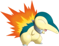 155Cyndaquil Pokemon Mystery Dungeon Explorers of Sky