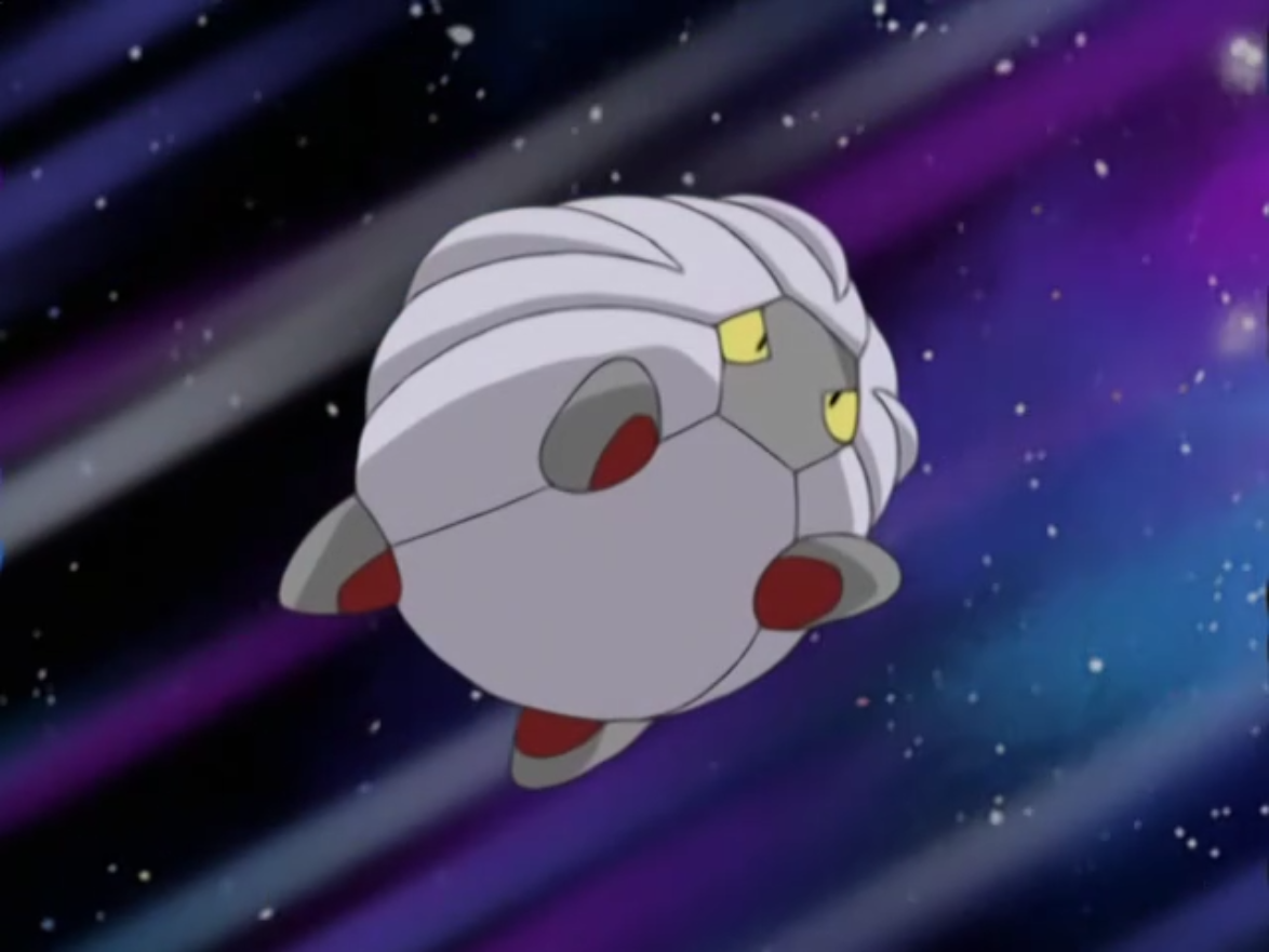 Drake's Shelgon was sent out to battle against Ash's Pikachu.