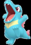 158Totodile Pokémon HOME