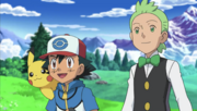 Ash and Cilan