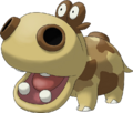 449Hippopotas Pokemon Ranger Shadows of Almia
