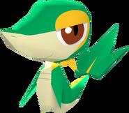 495Snivy Pokémon Rumble Blast