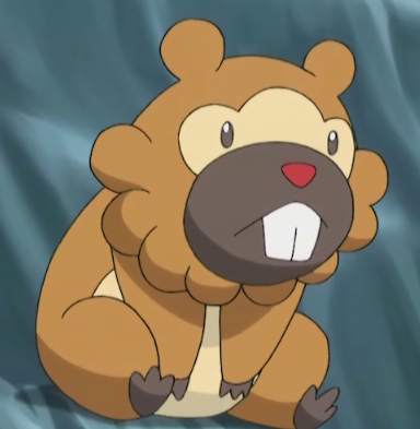 Beatrice owns a Bidoof, who had been captured once.