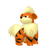058Growlithe Pokémon HOME