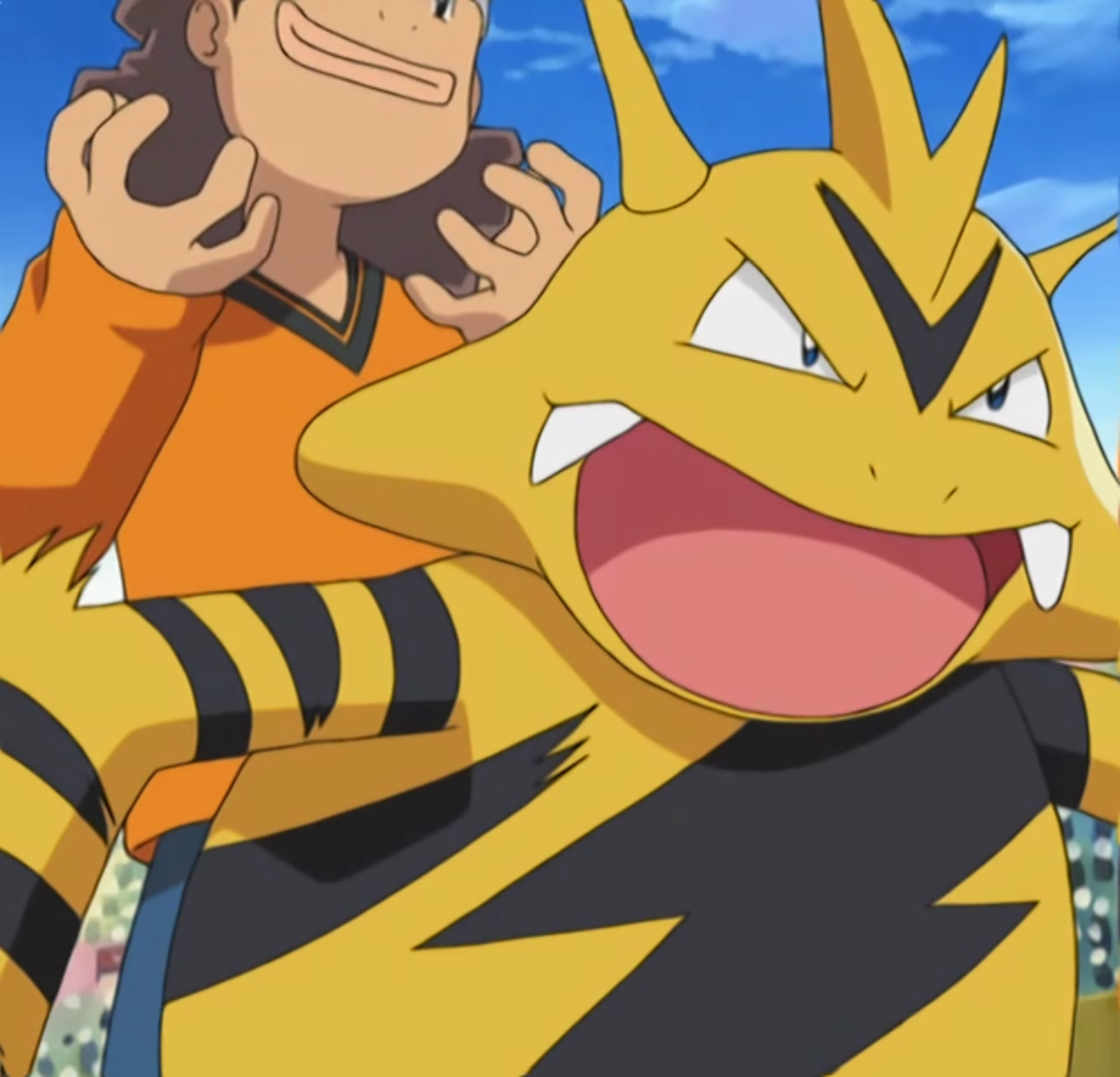 Electabuzz was used in the preliminary round against Morrison's Beldum. It lost, however, when Beldum evolved into Metang.