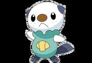 501Oshawott BW anime