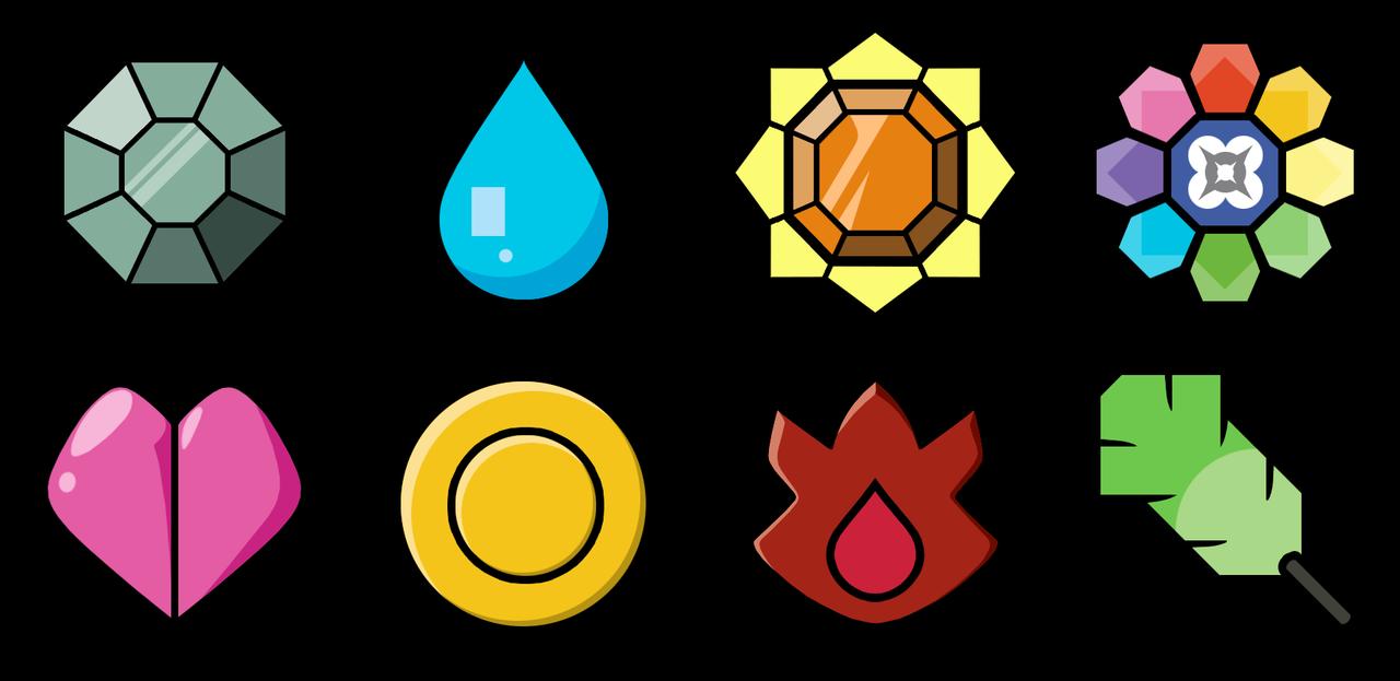 Gym Badges