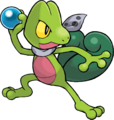 252Treecko Pokemon Mystery Dungeon Red and Blue Rescue Teams 2