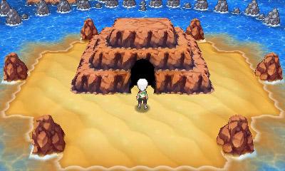작은 섬 옆굴