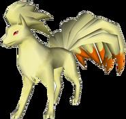 038Ninetales Pokémon PokéPark