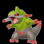 611Fraxure Pokémon HOME