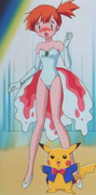 Misty magician assistant outfit