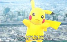 Pokemon Y and X Pikachu