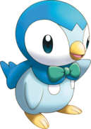 393Piplup Pokemon Mystery Dungeon Explorers of Sky