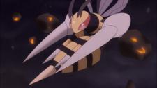 Mega Beedrill Trailer Anime