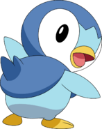 393Piplup DP anime 3