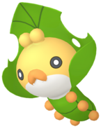 540Sewaddle Pokémon HOME