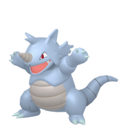 112Rhydon Female Pokémon HOME