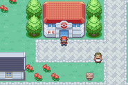Pewter City - Pokémon Center (Gen III)