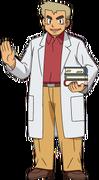 Professor Oak anime XY and XYZ