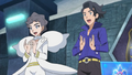 Professor Sycamore and Champion Diantha