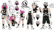 Team skull grunt concept art