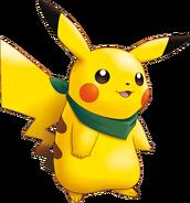 025Pikachu Pokemon Mystery Dungeon Explorers of Sky