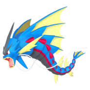 130Gyarados Mega Pokémon HOME