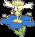 669Flabébé Blue Flower XY anime