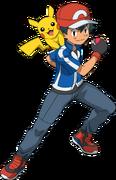 Ash anime XY and XYZ