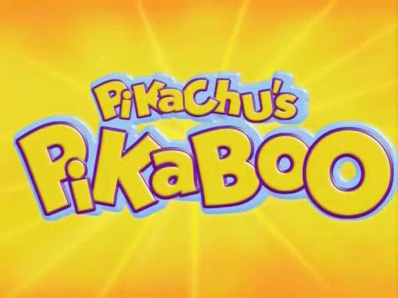 PK011: Pikachu's PikaBoo