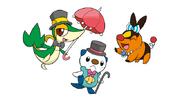 Unova Starters and Pokémon Musical