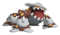 485Heatran Pokemon Ranger Shadows of Almia