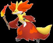 655Delphox Pokémon HOME