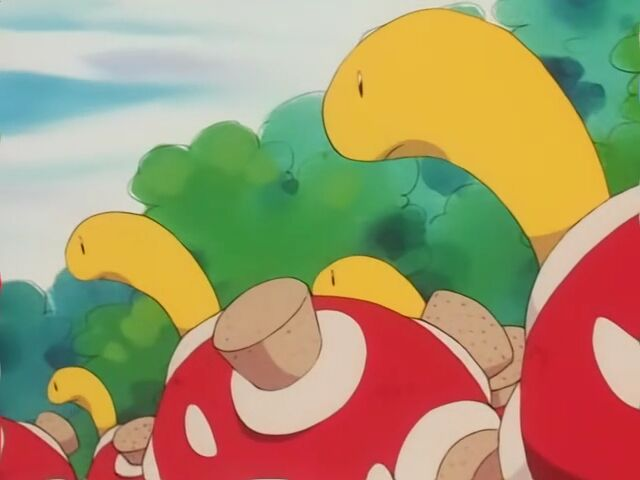 Old Man Shuckle had many Shuckle, whop produced berry juice for him.