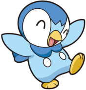 393Piplup DP anime 10