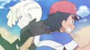 Ash and Gladion
